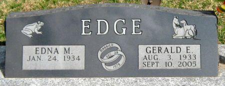 EDGE, GERALD EDWARD - Jasper County, Iowa | GERALD EDWARD EDGE
