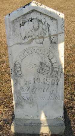LINDER, ELIZABETH - Jasper County, Iowa | ELIZABETH LINDER