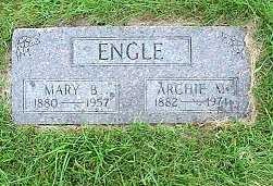 ENGLE, MARY BERTHA - Jasper County, Iowa | MARY BERTHA ENGLE
