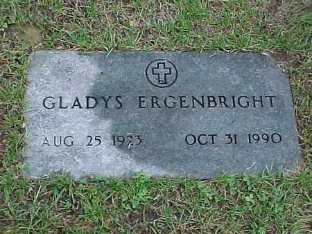 ERGENBRIGHT, GLADYS - Jasper County, Iowa | GLADYS ERGENBRIGHT