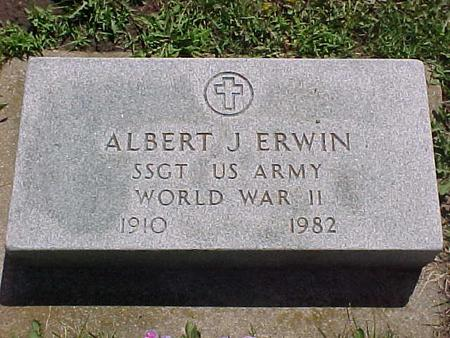ERWIN, ALBERT J. - Jasper County, Iowa | ALBERT J. ERWIN