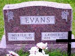 WALL EVANS, MYRTLE - Jasper County, Iowa | MYRTLE WALL EVANS