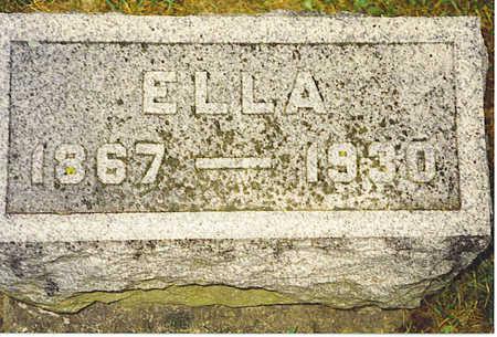 FLEMING, ELLA - Jasper County, Iowa   ELLA FLEMING