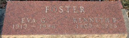 FOSTER, EVA G. - Jasper County, Iowa | EVA G. FOSTER