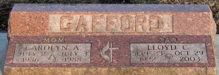 HUNTROD GAFFORD, CAROLYN A. - Jasper County, Iowa | CAROLYN A. HUNTROD GAFFORD