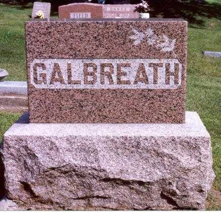 GALBREATH, THOMAS LEWIS - Jasper County, Iowa | THOMAS LEWIS GALBREATH