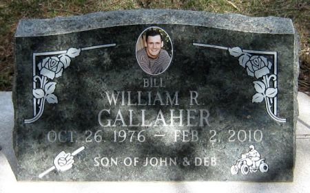 GALLAHER, WILLIAM R. - Jasper County, Iowa   WILLIAM R. GALLAHER