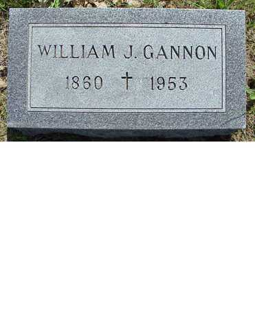 GANNON, WILLIAM J. - Jasper County, Iowa | WILLIAM J. GANNON