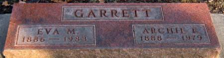 BOSTER GARRETT, EVA M. - Jasper County, Iowa   EVA M. BOSTER GARRETT