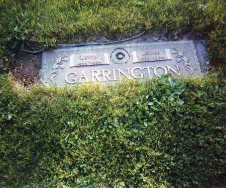 GARRINGTON, LOUISE - Jasper County, Iowa | LOUISE GARRINGTON