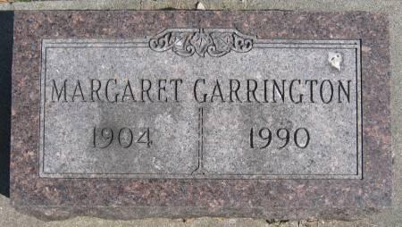 GARRINGTON, MARGARET FAITH - Jasper County, Iowa | MARGARET FAITH GARRINGTON