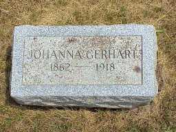 GERHART, JOHANNA - Jasper County, Iowa | JOHANNA GERHART