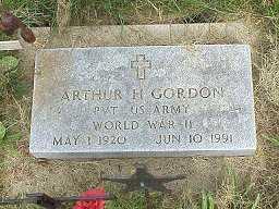 GORDON, ARTHUR - Jasper County, Iowa | ARTHUR GORDON