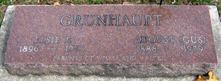 STEVENS GRUNHAUPT, ELSIE E. - Jasper County, Iowa | ELSIE E. STEVENS GRUNHAUPT