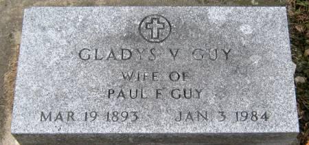 ELLIOTT GUY, GLADYS VIOLET - Jasper County, Iowa   GLADYS VIOLET ELLIOTT GUY