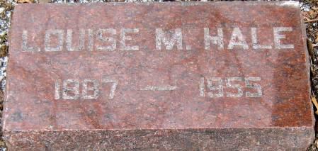 ERICKSON HALE, LOUISE MARIE - Jasper County, Iowa   LOUISE MARIE ERICKSON HALE
