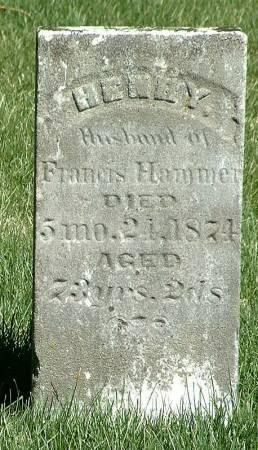 HAMMER, HENRY - Jasper County, Iowa | HENRY HAMMER