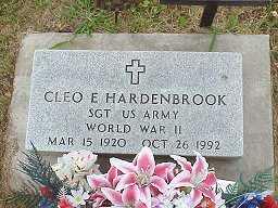 HARDENBROOK, CLEO EDISON - Jasper County, Iowa   CLEO EDISON HARDENBROOK
