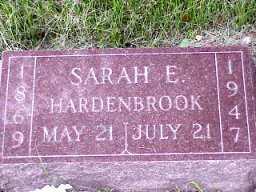 MILLER HARDENBROOK, SARAH - Jasper County, Iowa | SARAH MILLER HARDENBROOK