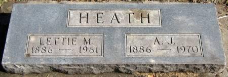 HEATH, LETTIE MAY - Jasper County, Iowa | LETTIE MAY HEATH