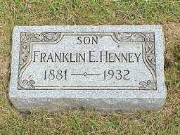 HENNEY, FRANKLIN - Jasper County, Iowa | FRANKLIN HENNEY