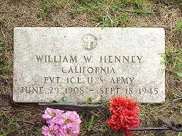 HENNEY, WILLIAM WAYNE - Jasper County, Iowa   WILLIAM WAYNE HENNEY