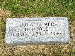 HERBOLD, JOHN ELMER - Jasper County, Iowa   JOHN ELMER HERBOLD