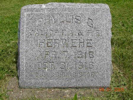 HERWEHE, PHYLLIS GLENETTE - Jasper County, Iowa | PHYLLIS GLENETTE HERWEHE