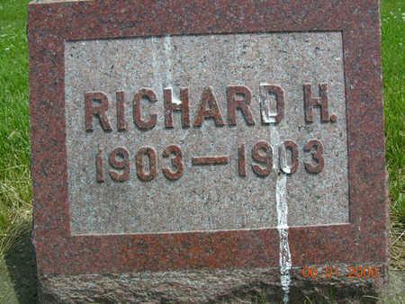 HERWEHE, RICHARD HENRY - Jasper County, Iowa | RICHARD HENRY HERWEHE