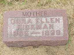 HURST HICKMAN, DORA ELLEN - Jasper County, Iowa | DORA ELLEN HURST HICKMAN