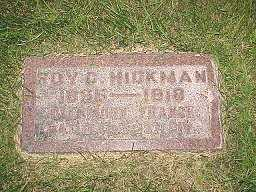 HICKMAN, ROY C. - Jasper County, Iowa | ROY C. HICKMAN