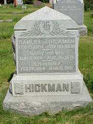 BYRUM HICKMAN, MARY - Jasper County, Iowa | MARY BYRUM HICKMAN