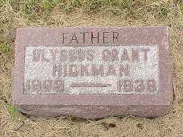 HICKMAN, ULYSSUS GRANT - Jasper County, Iowa | ULYSSUS GRANT HICKMAN