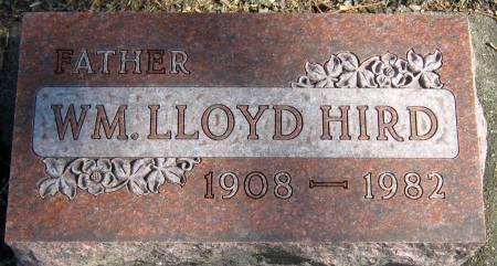 HIRD, WILLIAM LLOYD - Jasper County, Iowa | WILLIAM LLOYD HIRD