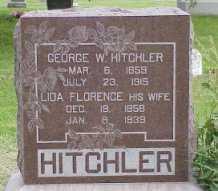 HITCHLER, GEORGE W. - Jasper County, Iowa | GEORGE W. HITCHLER