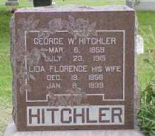 BENSKIN HITCHLER, LIDA FLORENCE - Jasper County, Iowa | LIDA FLORENCE BENSKIN HITCHLER