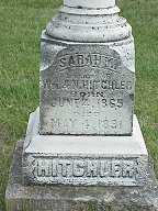 HITCHLER, SARAH M. - Jasper County, Iowa | SARAH M. HITCHLER