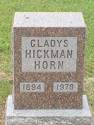 HORN, GLADYS - Jasper County, Iowa | GLADYS HORN