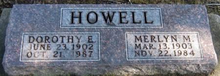 HOWELL, DOROTHY E. - Jasper County, Iowa | DOROTHY E. HOWELL