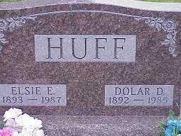 HUFF, ELSIE - Jasper County, Iowa | ELSIE HUFF