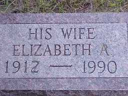 HUFF, ELIZABETH - Jasper County, Iowa | ELIZABETH HUFF