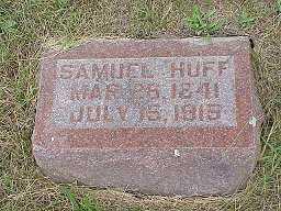 HUFF, SAMUEL - Jasper County, Iowa | SAMUEL HUFF