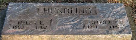 EBY HUNDLING, HELEN E. - Jasper County, Iowa | HELEN E. EBY HUNDLING