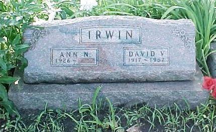 IRWIN, ANN N. - Jasper County, Iowa | ANN N. IRWIN