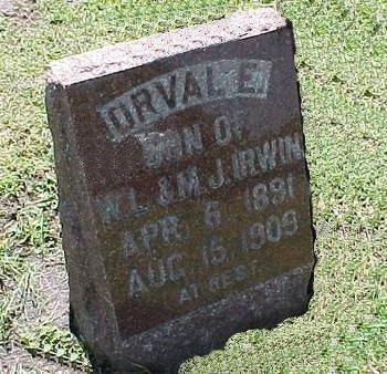 IRWIN, ORVAL E. - Jasper County, Iowa | ORVAL E. IRWIN