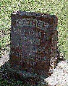 IRWIN, WILLIAM L. - Jasper County, Iowa   WILLIAM L. IRWIN