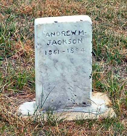 JACKSON, ANDREW M. - Jasper County, Iowa | ANDREW M. JACKSON