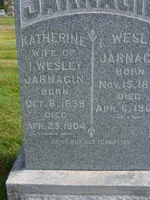 JARNAGIN, KATHERINE - Jasper County, Iowa | KATHERINE JARNAGIN