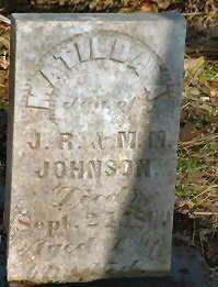 JOHNSON, MATILDA - Jasper County, Iowa | MATILDA JOHNSON
