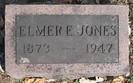 JONES, ELMER ELWOOD - Jasper County, Iowa   ELMER ELWOOD JONES